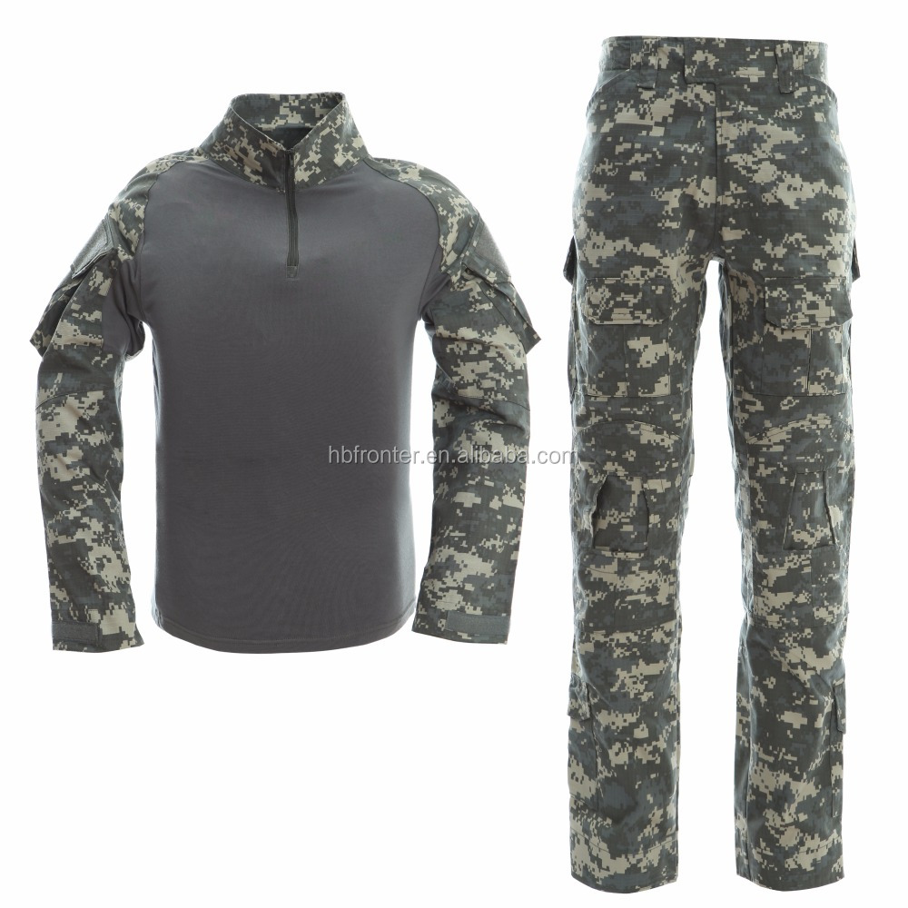 Custom fashion waterproof outdoor sport tactical army combat military uniform