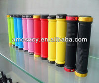 Rubber bicycle handle bar grips