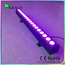 Indoor 18*18W 6in1 rgbawv led wall washer