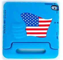 Luxury custom colorful for ipad pro 9.7 inch stand case,for ipad pro grip handle kid case cover with USA flag