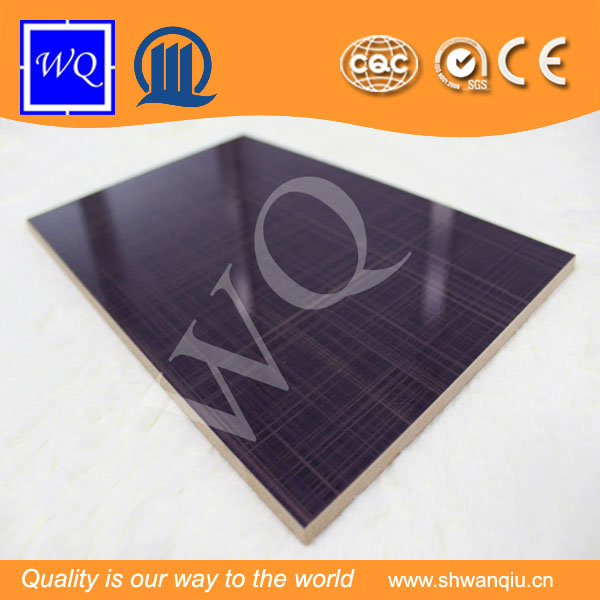 Plain Colored MDF/UV coated MDF Board/lacquer mdf board for kitchen