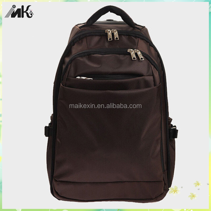 Wholesale travel school backpack trolley bag for fashion trolley laptop bag women