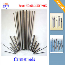 Tungsten wire, rods cermet Ti(C N)