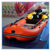 Large 8 person pvc inflatable rubber motor boat for sale