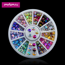 Pinpai brand 2017 hot sell 3D nail accessory for nai art use 3D nail art decoration