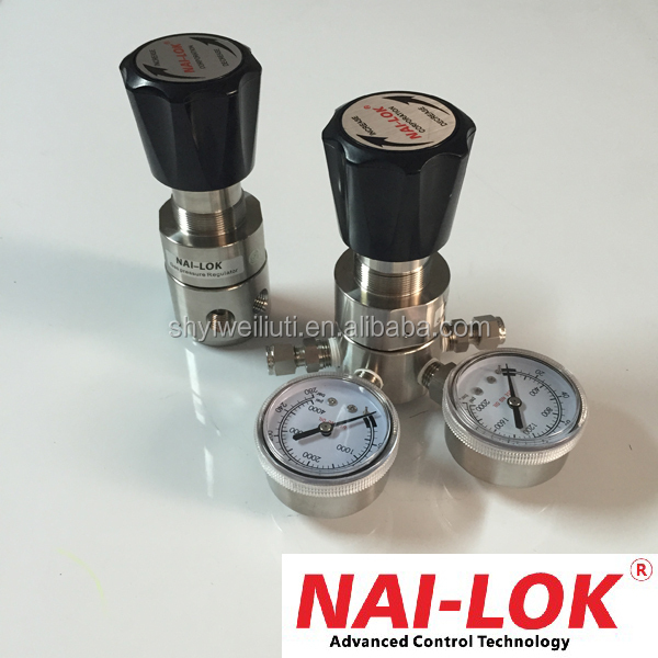 Nitrogen pressure regulator SS316