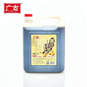 Cheap 2L low salt and MSG free light soy sauce for restaurant