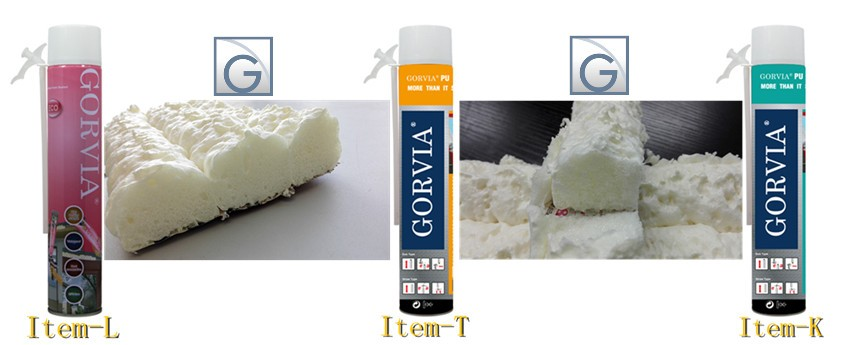 expanding PU foam sealant from Chinese manufacturer Gorcci