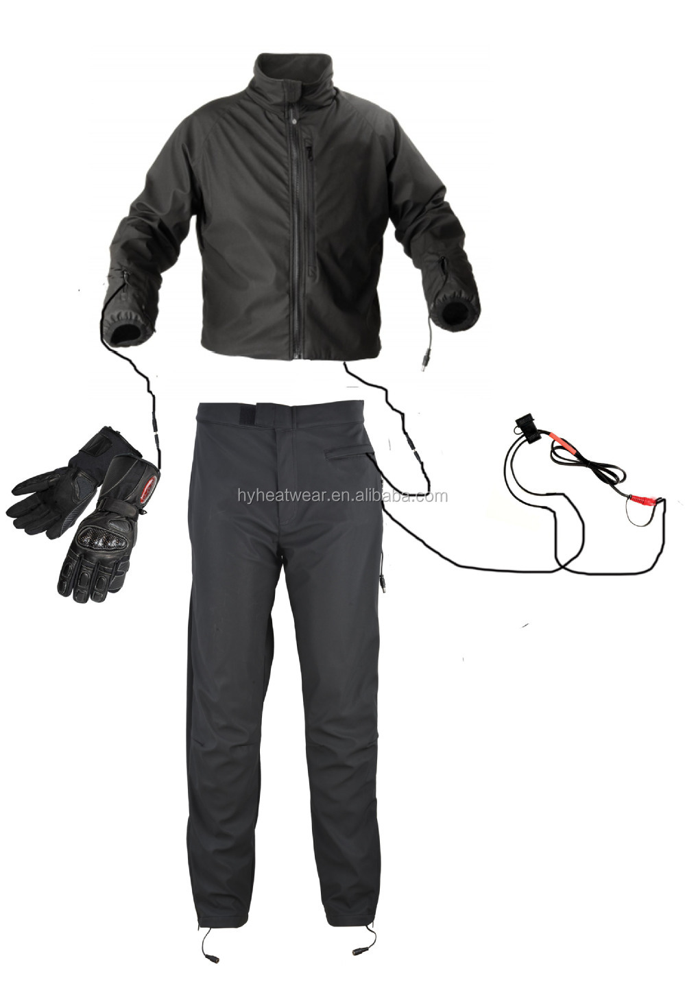 heated motorcycle clothing / motorbike jacket / suit of electrical motorcycle