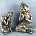 2018 New finish home indoor decoration resting sleeping buddha