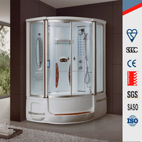 M-9006 China Steam shower room with bathtub
