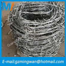 Alibaba express hot-dip galvanized barbed wire price per roll