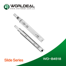 High quality kitchen cabinet drawer slide channel rail WD-B4518