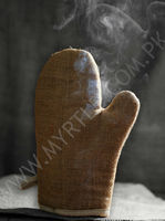 Jute Mitten Jute Gloves for Kitchen Chef and Cooking