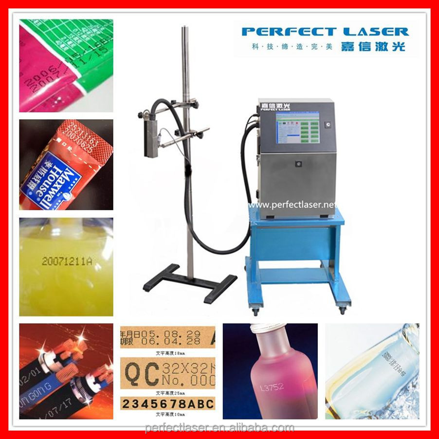 2015 perfect laser Automatic LCD inkjet printer for cable, VIN Code , date , Bag , Wire ,bottle, paper