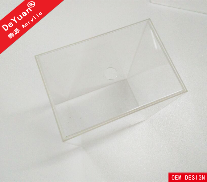 Clear acrylic drawer storage and display shoe box
