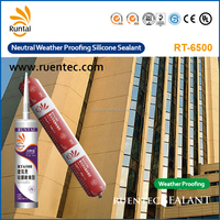 Air And Flame Proof Neutral Transparent Liquid Silicone Sealant For Metal