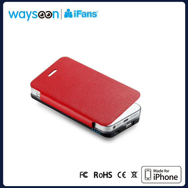 Hotsales for iphone5 external battery power pack case /backup battery case for iphone5 with good quality