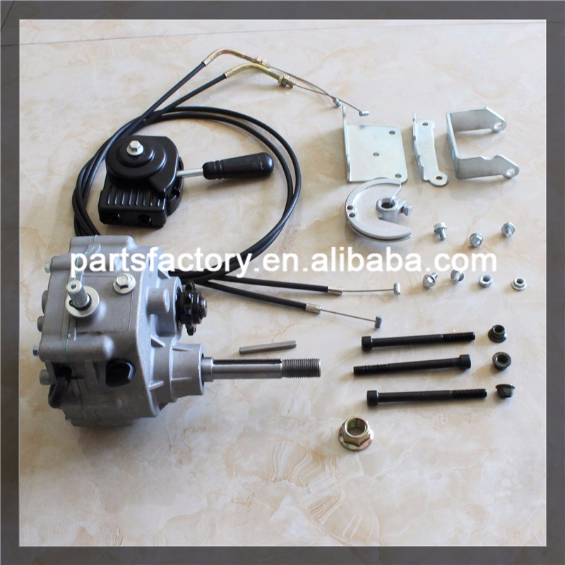 Go kart parts off road reverse gearbox for sale