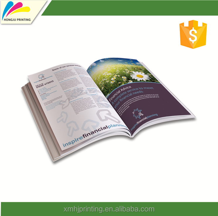 factory hot sales Color New Catalogue Design & Printing Catalogs Design With ISO9001
