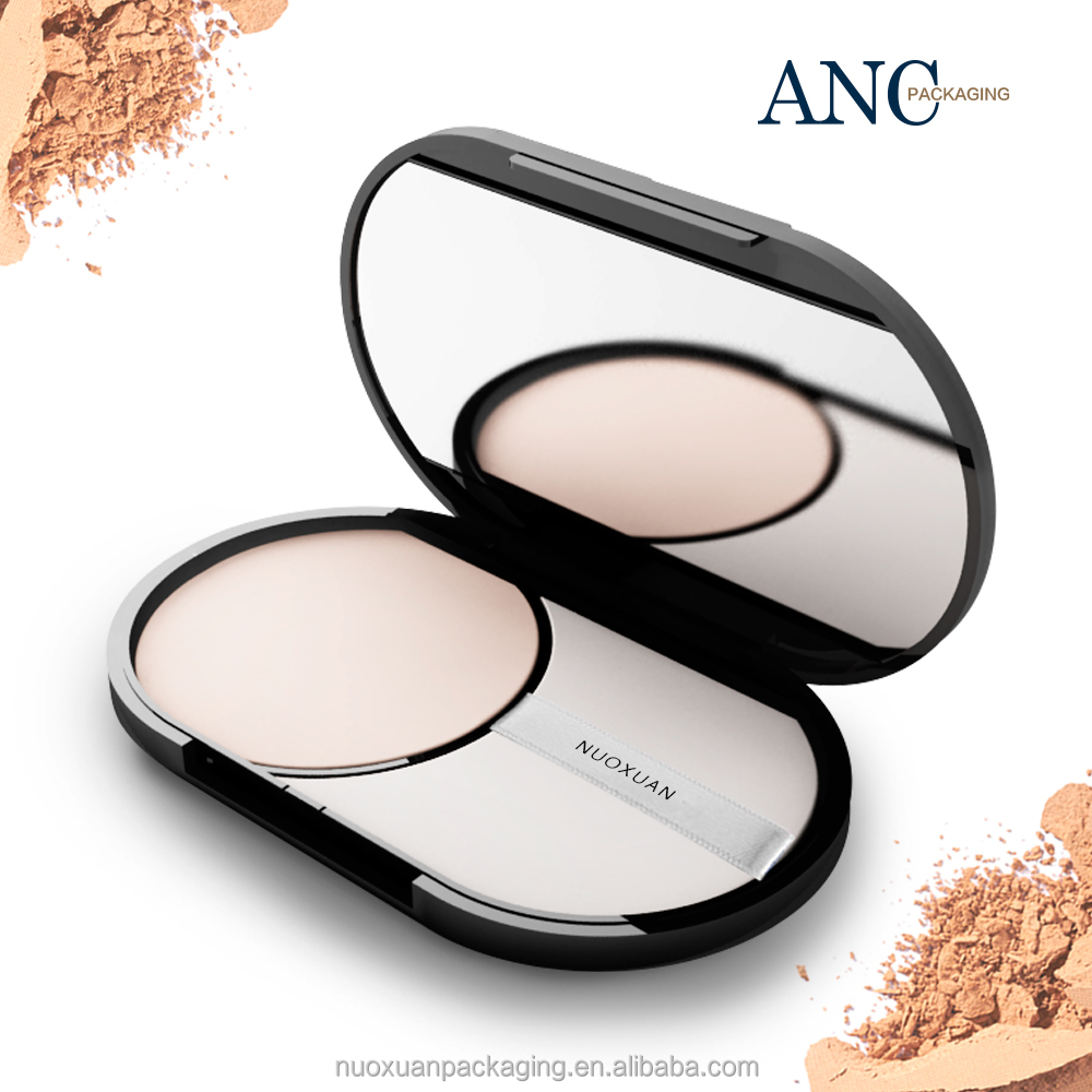 ANC biodegradable luxury design plastic cosmetic compact packaging .Wholesale cosmetics empty low price