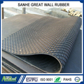 8mmx1.22mx1.83m Small squared cow mat rubber horse stable stall mat