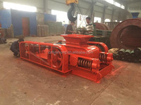 Low hardness coal and limestone double teeth roller crusher price for sale