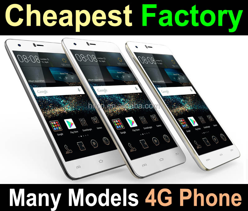 Cheapest Factory 4.5 to 6 inch Android 5.1 4G mobile phone, 4G Smartphone with Best Price and Many Models