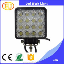 Truck Accessories Square 48w Super Bright Led Working Light