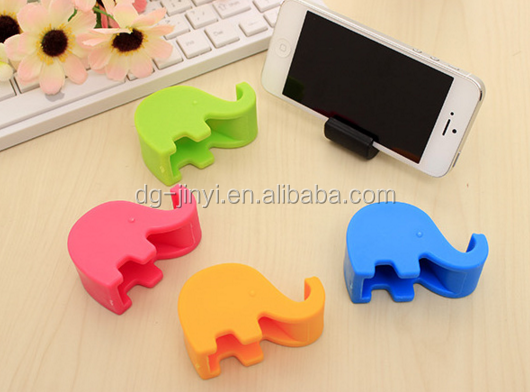 Cute Promotional Company Gift Silicone Stand With Suction Cap for Mobile