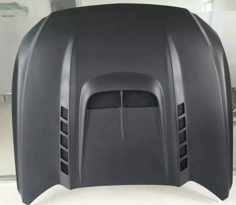 Carbon bonnet for MUSTANG to HENNESSEY carbon fiber hood