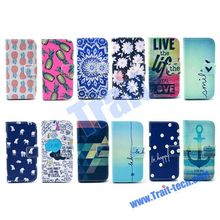 New Arrived Magnetic Flip Stand PU Leather+TPU Case For Samsung Galaxy S5 Mini SM-G800 Paypal Accept