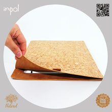 2013 eco-friendly substantial protection For ipad 1/2/3/4 customized cork smart cover case