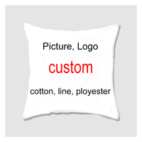 Custom Throw Pillow Cover Personalized Pillow case Your Custom Design Household Gifts