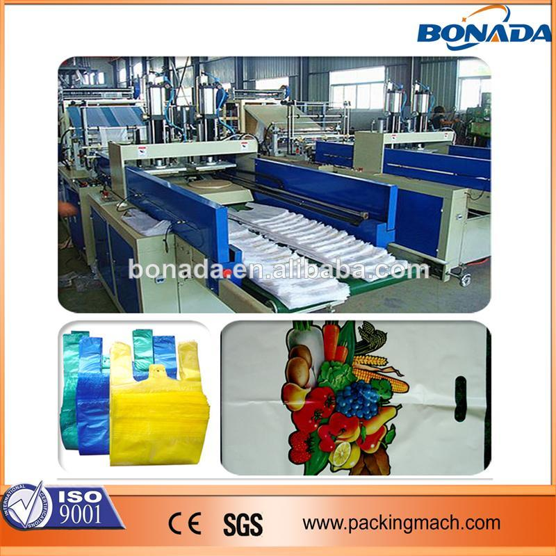 High Quality Newest plastic rubbish bag making machine