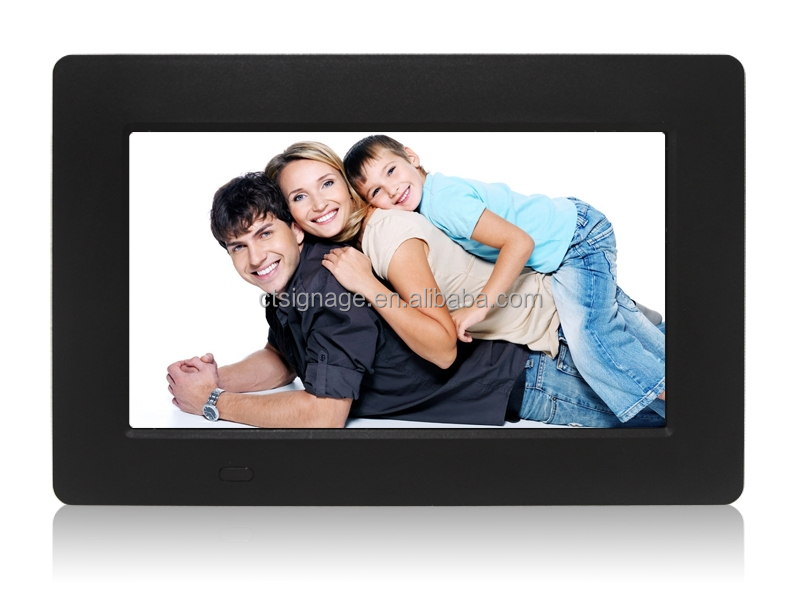 dpf800*480 1080p video 16:9 dpf good performence slide-show AVI,WMAMP4 MP3 remote control picture frames dpf with factory price