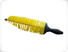 Cheap easy used plastic car wheel cleaning brush is013