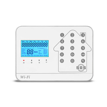 Wi-Fi/GSM/PSTN Alarm System with 24 hours buglar minitoring alarm systems.
