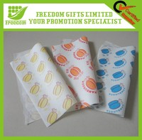 Logo Printed Promotional Eco-friendly Greaseproof Food Paper