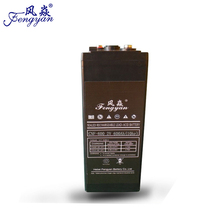 Long Cycle Life Lead Acid Storage Battery 2 V 600 AH UPS Battery