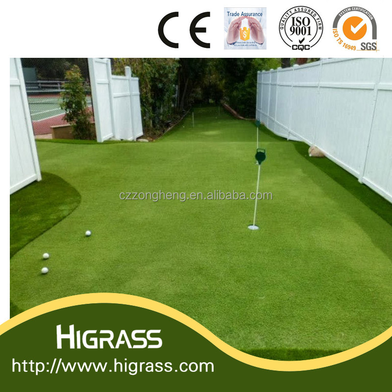 Grass Carpet For Outdoor Mini Golf