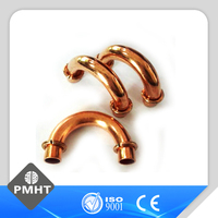 Copper return elbow with loop/ring 180 degree elbow U bend pipe