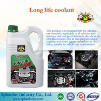 long Life Coolant for car engine system/ colant