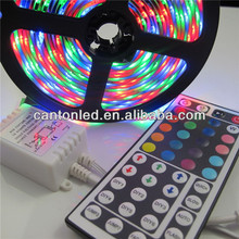 5m 300 LED SMD 5050 Addressable RGB LED Strip+44KEY IR remote controller