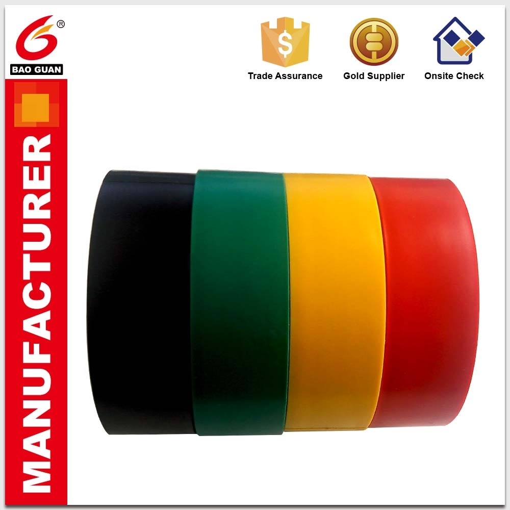 Good stability and Withstand high voltage PVC Insulation electrical tape