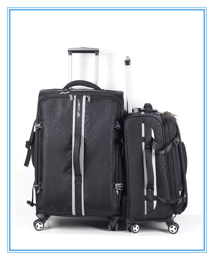 good deisgn military trolley luggage bag decent travel luggage