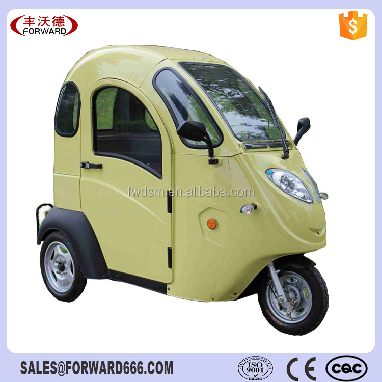 Electric Scooter Enclosed 3 Wheel Car For Sale