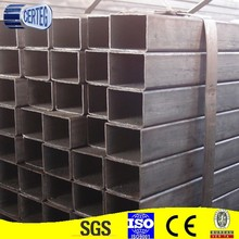 China manufacturer customized section carbon steel/pipe, square hollow steel pipe/tube