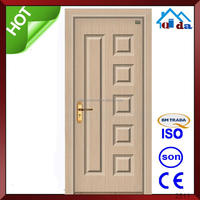 Interior wood china modern model of door for kitchen