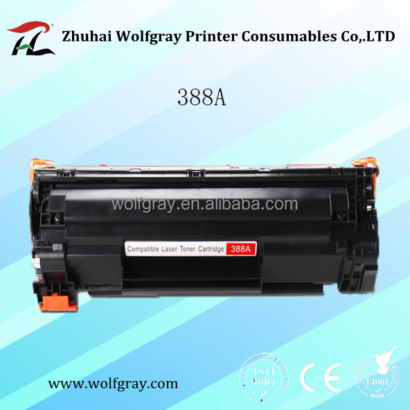 Compatible for HP 388A laser toner cartridge for HP LaserJet P1007/P1008 printer consumables products